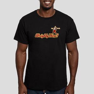 Ace Ventura Alrighty T Men's Fitted T-Shirt (dark)