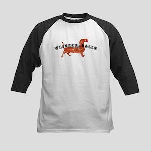 Weiners and Balls Kids Baseball Jersey