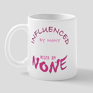 INFLUENCED BY MANY Mug