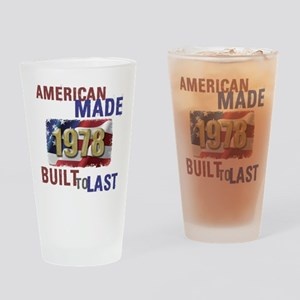 1978 American Made Drinking Glass