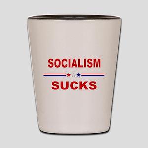 Socialism Sucks Shot Glass