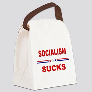 Socialism Sucks Canvas Lunch Bag