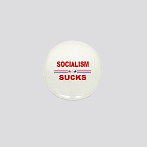 Socialism Sucks Mini Button
