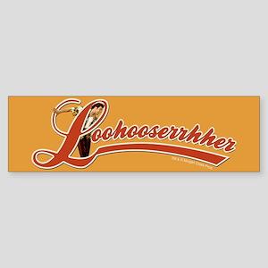Ace Ventura Loohooserrhher Bumper Sticker