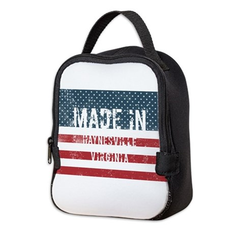 Made in Haynesville, Virginia Neoprene Lunch Bag