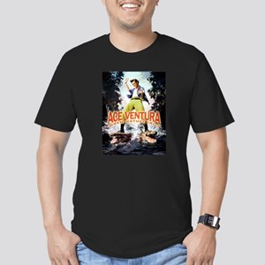Ace Ventura When Natur Men's Fitted T-Shirt (dark)