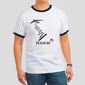 IYAAYAS Patriotic Ringer T