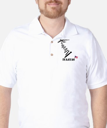 IYAAYAS Patriotic Golf Shirt