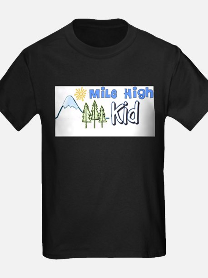 Mile High Kids T-Shirt