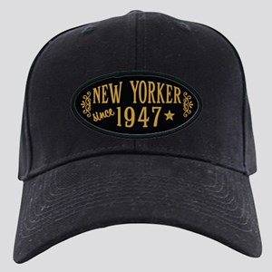 New Yorker Since 1947 Black Cap with Patch
