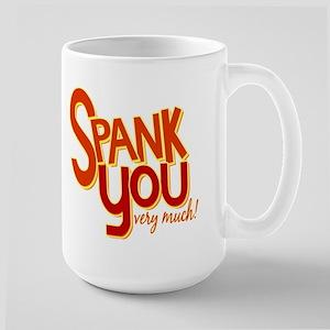 Ace Ventura Spank You Large Mug