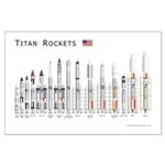 Titan Rockets Posters Large Poster