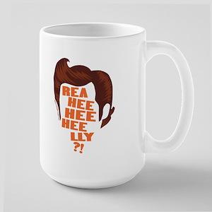 Ace Ventura Reaheeheelly Large Mug