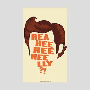 Ace Ventura Reaheeheelly Sticker (Rectangle)