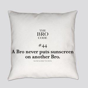Bro Code #44 Everyday Pillow