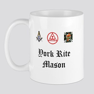York Rite Mason Mug