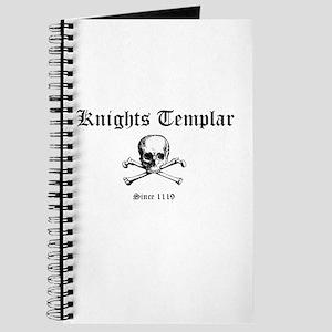 Knights Templar Skull & Bones Journal