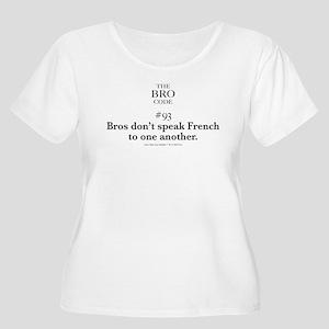 Bro Code #93 Plus Size T-Shirt