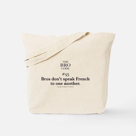 Bro Code #93 Tote Bag