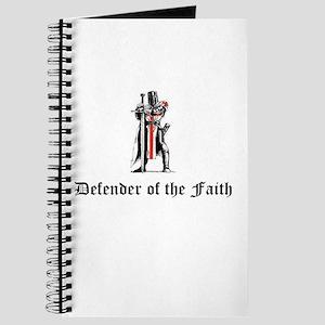 Defender of the Faith Journal