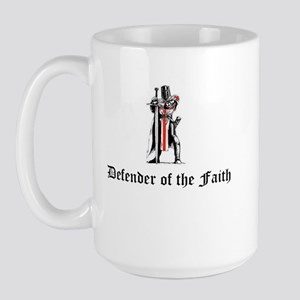 Defender of the Faith Large Mug