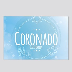 Coronado Beach CA Postcards (Package of 8)