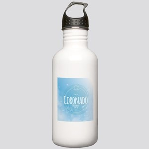 Coronado Beach CA Stainless Water Bottle 1.0L