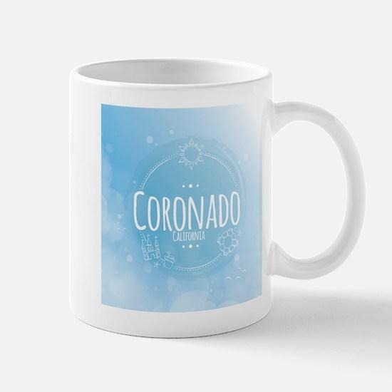 Coronado Beach CA Mugs