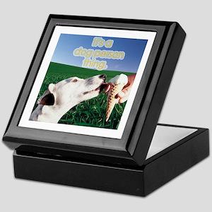 Dog Lover's Keepsake Box