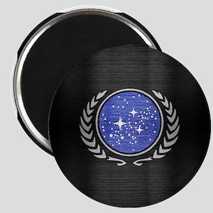 STARTREK UFP METAL 1 Magnet