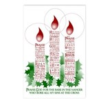 softly evangelistic christmas Postcards (8 pk)