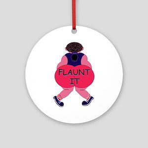 Flaunt It! Keepsake (Round)