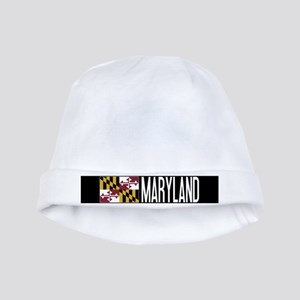 Maryland: Marylander Flag & Maryland baby hat