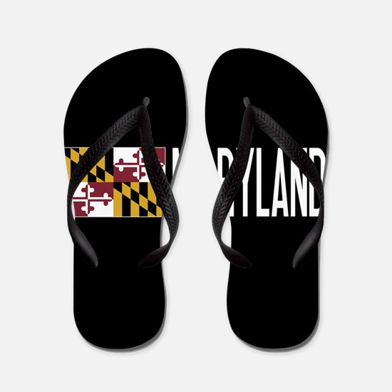 Maryland: Marylander Flag & Maryland Flip Flops