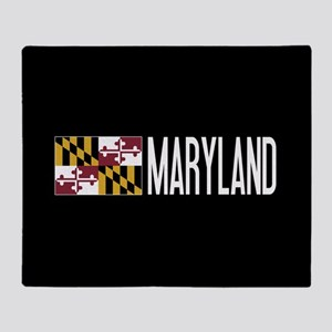 Maryland: Marylander Flag & Maryland Throw Blanket