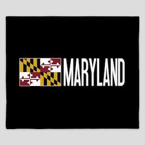 Maryland: Marylander Flag & Maryland King Duvet