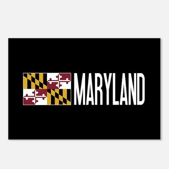 Maryland: Marylander Flag Postcards (Package of 8)