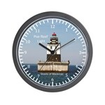 Poe Reef Light Wall Clock