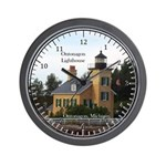 Ontonagon Lighthouse Wall Clock