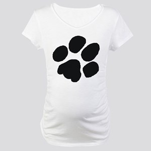 Pawprint Maternity T-Shirt