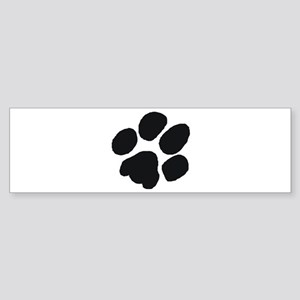 Pawprint Bumper Sticker