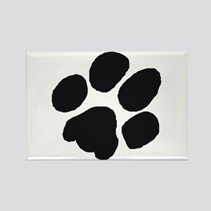 Pawprint Rectangle Magnet