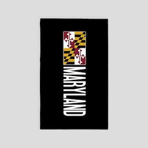 Maryland: Marylander Flag & Maryland Area Rug