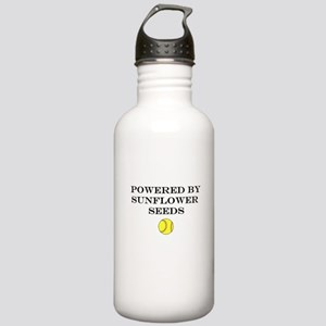 Powered By Sunflower S Stainless Water Bottle 1.0L