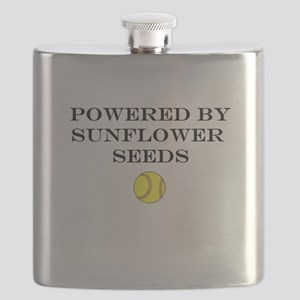 Powered By Sunflower Seeds Flask