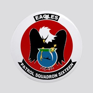 VP 16 Eagles Ornament (Round)