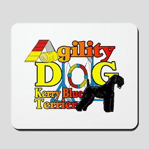 Kerry Blue Agility Mousepad
