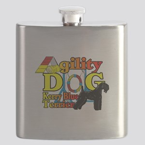 Kerry Blue Agility Flask
