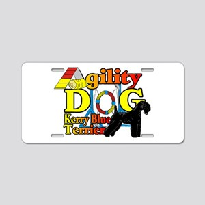 Kerry Blue Agility Aluminum License Plate
