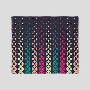 Geometric Pattern Throw Blanket